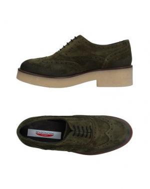 Обувь на шнурках SPAZIOMODA. Цвет: зеленый