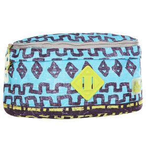 Сумка поясная  2 for 1 Hip Pack Tribe Dakine. Цвет: голубой,мультиколор
