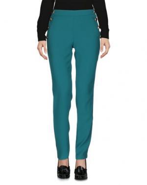 Повседневные брюки ELLA LUNA. Цвет: изумрудно-зеленый