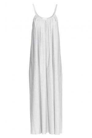 Платье из хлопка PG-180643 Studia Pepen. Цвет: серый