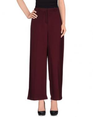Повседневные брюки 1-ONE. Цвет: пурпурный