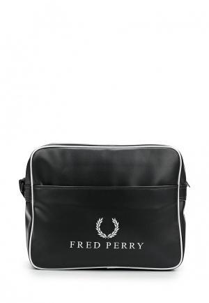 Сумка Fred Perry. Цвет: черный