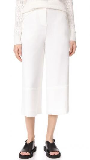 Юбка-брюки с высокой талией Grey Jason Wu. Цвет: белый