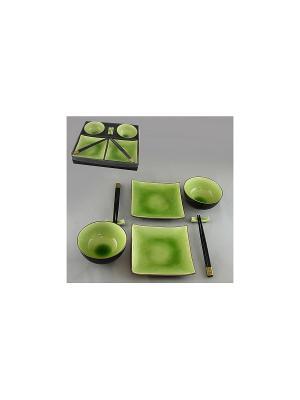 Набор для суши 8 пр. МЯТА SAGURO. Цвет: зеленый