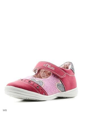 Туфли S.OLIVER. Цвет: фуксия, розовый