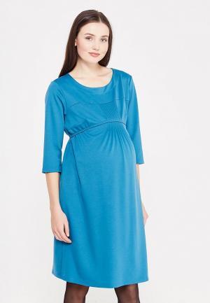 Платье Фэст. Цвет: бирюзовый