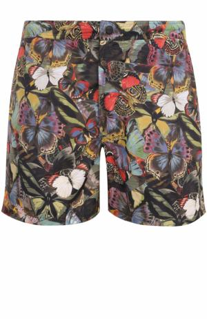 Плавки-шорты с принтом Valentino. Цвет: разноцветный