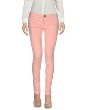 Повседневные брюки ATELIER FIXDESIGN. Цвет: светло-розовый