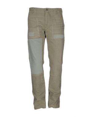 Повседневные брюки DEPARTMENT 5. Цвет: зеленый-милитари