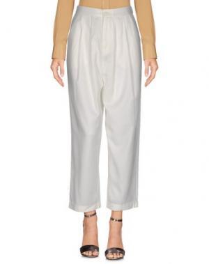 Повседневные брюки AMERICAN VINTAGE. Цвет: слоновая кость