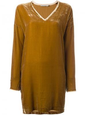 Платье Vicky Mes Demoiselles. Цвет: коричневый