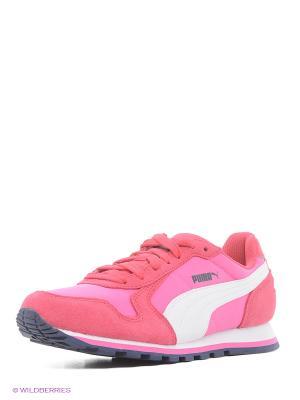Кроссовки ST Runner NL Puma. Цвет: розовый