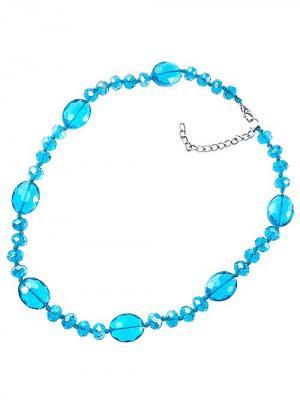 Бусы Chantal. Цвет: серебристый, голубой