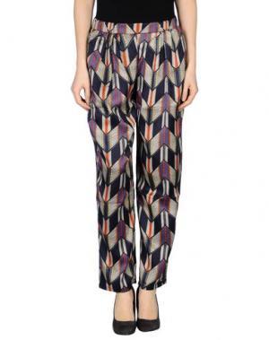 Повседневные брюки CUTIE. Цвет: темно-синий
