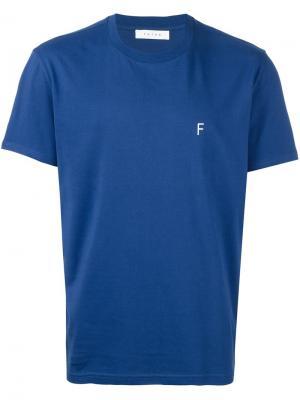 Футболка New 01 Futur. Цвет: синий