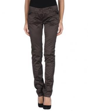 Повседневные брюки GERMANO ZAMA. Цвет: какао