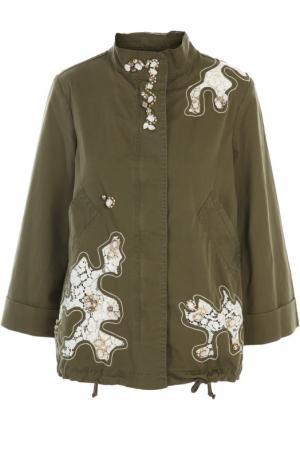 Куртка History Repeats by Femme. Цвет: зеленый