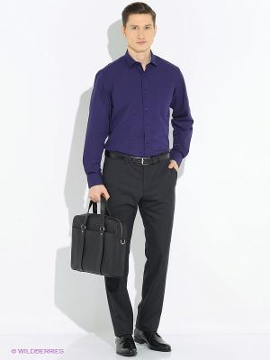 Рубашка Imperator. Цвет: темно-фиолетовый