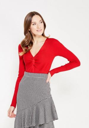 Пуловер Koralline. Цвет: красный