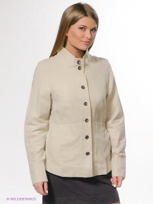 Куртки Columbia. Цвет: светло-бежевый