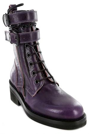 Ботинки Ann Demeulemeester. Цвет: фиолетовый