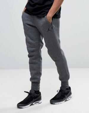 Jordan Серые джоггеры скинни Nike Icon 809472-010. Цвет: черный