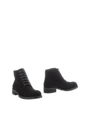 Полусапоги и высокие ботинки DEL GATTO. Цвет: черный
