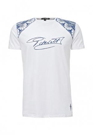 Футболка Cesare Paciotti. Цвет: белый