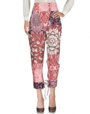 Повседневные брюки VIRNA DRÒ®. Цвет: пастельно-розовый