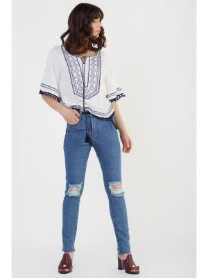 Блузка Z.O.X.A. Цвет: белый