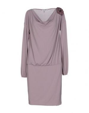 Короткое платье CRISTINAEFFE. Цвет: сиреневый