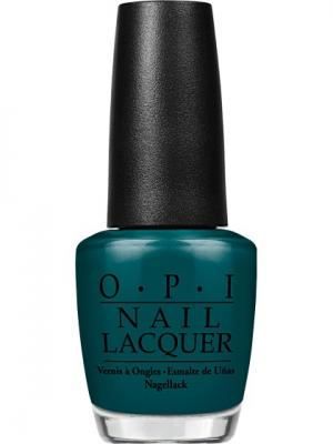 Opi Лак для ногтей AmazON AmazOFF, 15 мл. Цвет: темно-зеленый