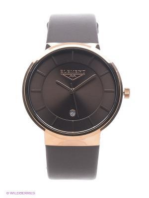 Часы 33 ELEMENT. Цвет: коричневый
