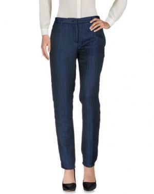 Повседневные брюки EMILIANO RINALDI. Цвет: темно-синий