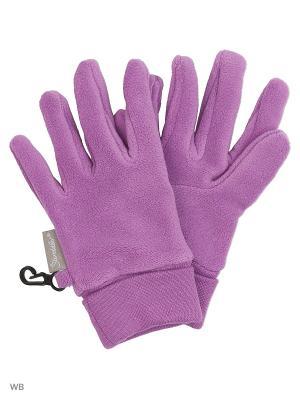 Перчатки Sterntaler. Цвет: сиреневый
