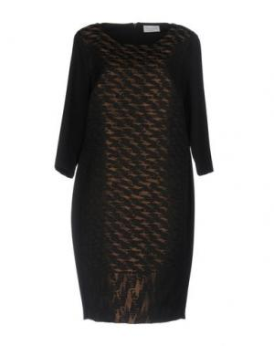 Платье до колена CALALUNA. Цвет: черный