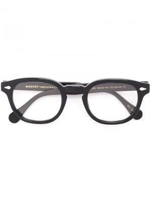 Очки Lemtosh 49 Moscot. Цвет: чёрный