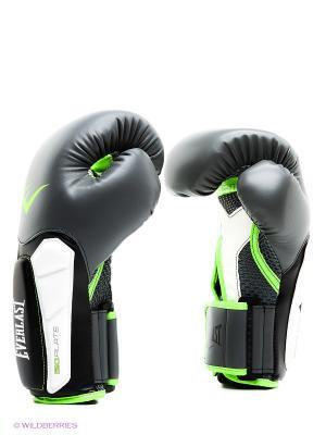Перчатки тренировочные Prime 16oz Everlast. Цвет: серый, салатовый, белый, черный