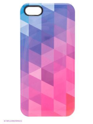 Чехол для iPhone 5/5s Vivid Kawaii Factory. Цвет: синий, фиолетовый, розовый