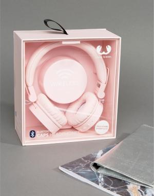 Fresh N Rebel Розовые беспроводные накладные наушники. Цвет: мульти