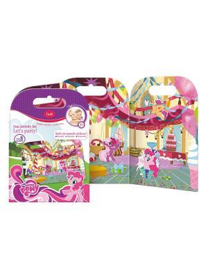 Игровой набор с прилипашками Вечеринка Пинки Пай Делай мамой. Цвет: розовый