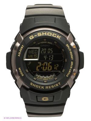 Часы G-SHOCK G-7710-1E CASIO. Цвет: черный
