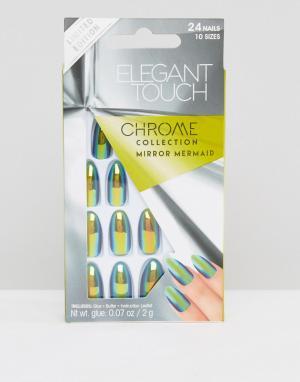 Elegant Touch Накладные ногти-стилет. Цвет: мульти