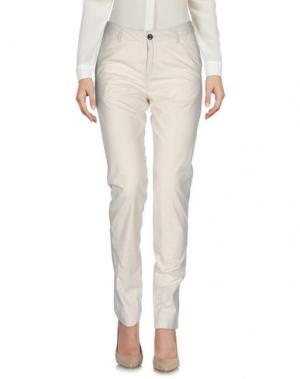 Повседневные брюки BELLEROSE. Цвет: бежевый