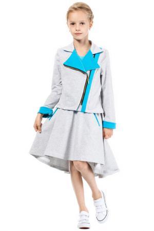 Пиджак KIDIN. Цвет: серый