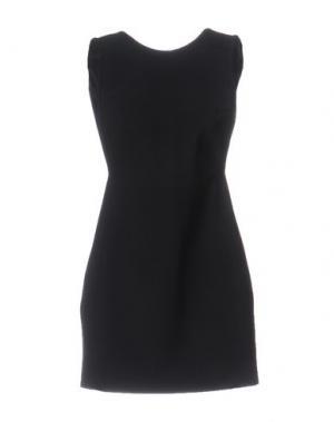 Короткое платье ANTHONY VACCARELLO NOIR. Цвет: черный