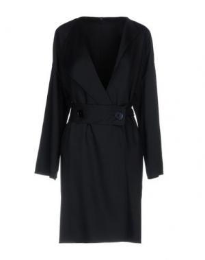 Легкое пальто N_8. Цвет: черный