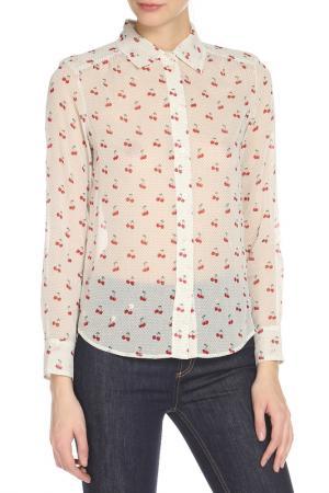 Блузка Marc by Jacobs. Цвет: белый