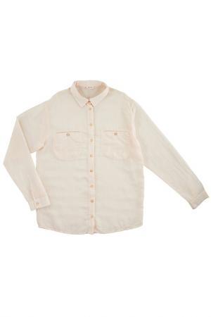 Блуза MORLEY. Цвет: розовый