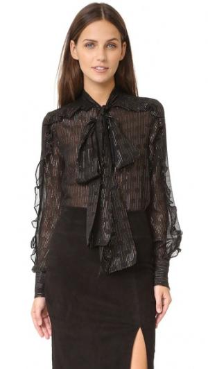 Блуза Lily Jill Stuart. Цвет: черный мульти